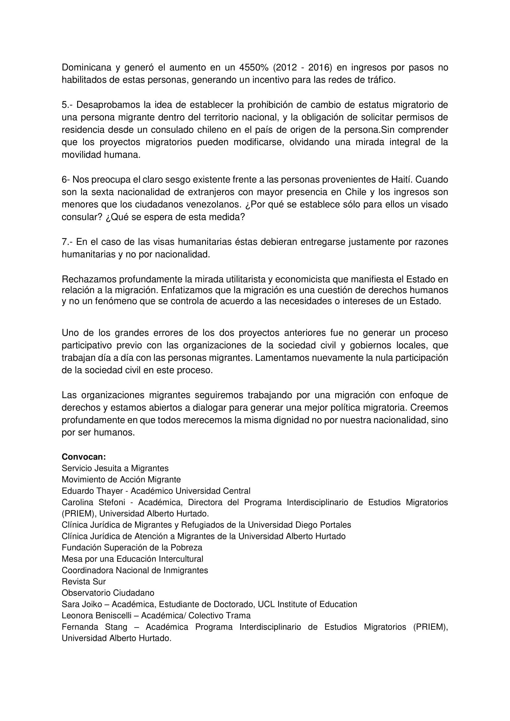 2 Comunicado Organizaciones Migrantes 10-04-2018-2